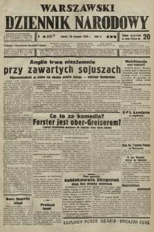 Warszawski Dziennik Narodowy. 1939, nr235 A