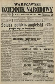 Warszawski Dziennik Narodowy. 1939, nr236 A