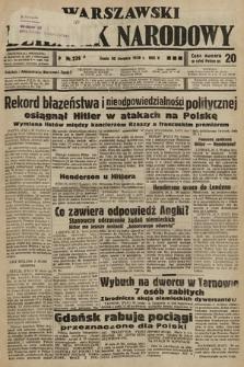 Warszawski Dziennik Narodowy. 1939, nr239 A