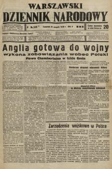 Warszawski Dziennik Narodowy. 1939, nr240 A