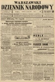 Warszawski Dziennik Narodowy. 1938, nr256 B