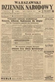Warszawski Dziennik Narodowy. 1938, nr302 B