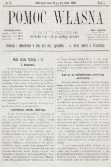 Pomoc Własna : dwutygodnik. 1886, nr2