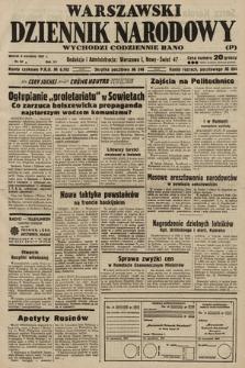 Warszawski Dziennik Narodowy. 1937, nr 94 B