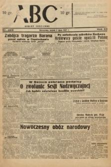 ABC : nowiny codzienne. 1937, nr206