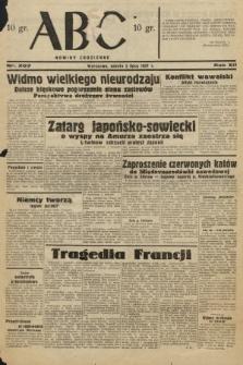 ABC : nowiny codzienne. 1937, nr207