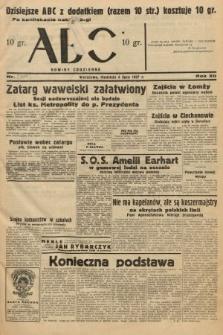 ABC : nowiny codzienne. 1937, nr[209] [ocenzurowany]