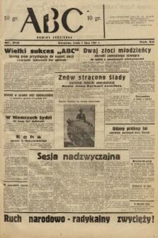ABC : nowiny codzienne. 1937, nr212
