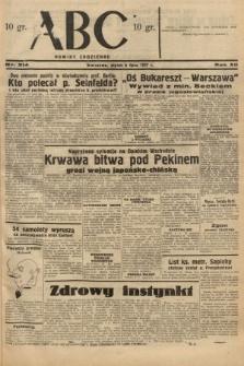 ABC : nowiny codzienne. 1937, nr214