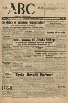 ABC : nowiny codzienne. 1937, nr215