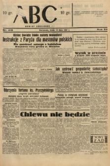 ABC : nowiny codzienne. 1937, nr219