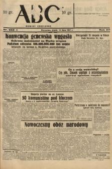 ABC : nowiny codzienne. 1937, nr222 A