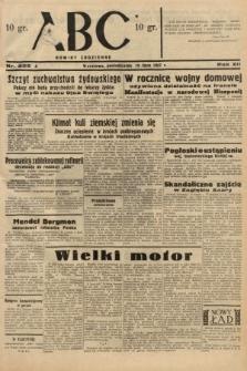 ABC : nowiny codzienne. 1937, nr225 A