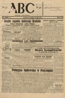 ABC : nowiny codzienne. 1937, nr228 A