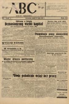 ABC : nowiny codzienne. 1937, nr229 A