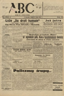 ABC : nowiny codzienne. 1937, nr230 A