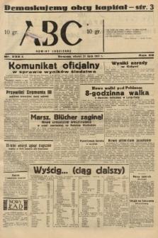 ABC : nowiny codzienne. 1937, nr233 A