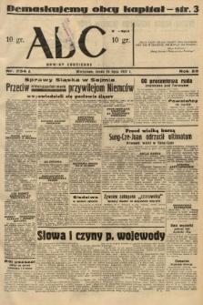 ABC : nowiny codzienne. 1937, nr234 A