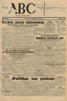 ABC : nowiny codzienne. 1937, nr237 A