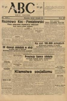 ABC : nowiny codzienne. 1937, nr241 A