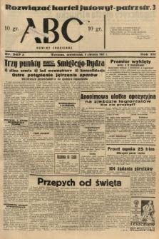 ABC : nowiny codzienne. 1937, nr247 A