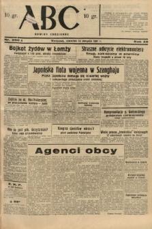 ABC : nowiny codzienne. 1937, nr250 A
