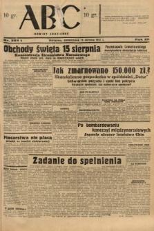 ABC : nowiny codzienne. 1937, nr254 A