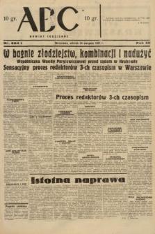 ABC : nowiny codzienne. 1937, nr264 A