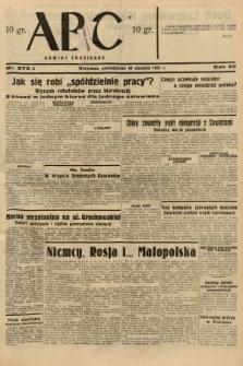 ABC : nowiny codzienne. 1937, nr275 A