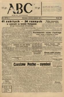 ABC : nowiny codzienne. 1937, nr276 A
