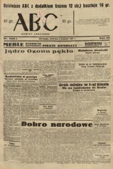 ABC : nowiny codzienne. 1937, nr282 A