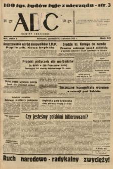 ABC : nowiny codzienne. 1937, nr283 A