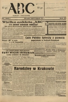 ABC : nowiny codzienne. 1937, nr285 A