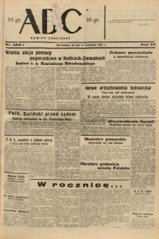 ABC : nowiny codzienne. 1937, nr288 A