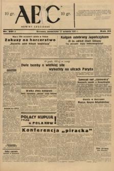 ABC : nowiny codzienne. 1937, nr291 A