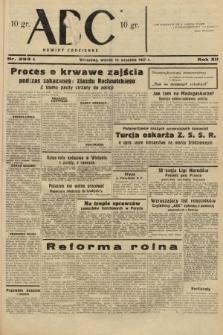 ABC : nowiny codzienne. 1937, nr292 A