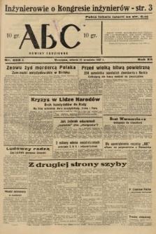 ABC : nowiny codzienne. 1937, nr299 A