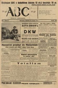 ABC : nowiny codzienne. 1937, nr304 A
