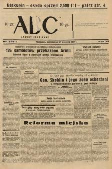 ABC : nowiny codzienne. 1937, nr306 A [ocenzurowany]
