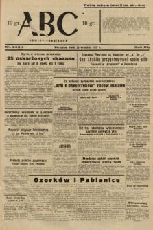 ABC : nowiny codzienne. 1937, nr309 A