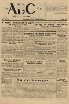 ABC : nowiny codzienne. 1937, nr311 A