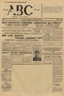 ABC : nowiny codzienne. 1937, nr[313] A [ocenzurowany]