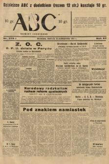 ABC : nowiny codzienne. 1937, nr325 A