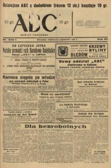 ABC : nowiny codzienne. 1937, nr340 A