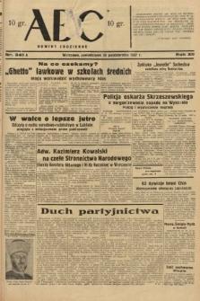 ABC : nowiny codzienne. 1937, nr341 A