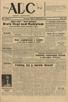 ABC : nowiny codzienne. 1937, nr345 A