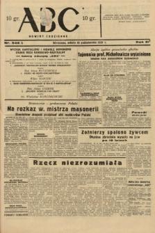 ABC : nowiny codzienne. 1937, nr346 A
