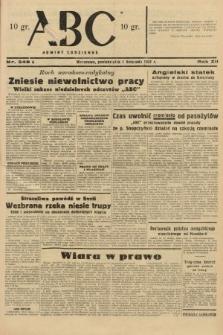 ABC : nowiny codzienne. 1937, nr348 A