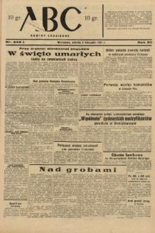 ABC : nowiny codzienne. 1937, nr349 A