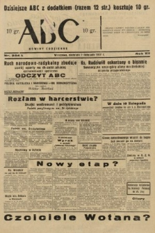 ABC : nowiny codzienne. 1937, nr354 A